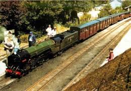 CPSM Train-Romney Hythe Et Dymchurch Railway-Typhoon   L1476 - Eisenbahnen