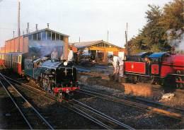 CPSM Train-Romney Hythe Et Dymchurch Railway-Hurricane   L1476 - Eisenbahnen