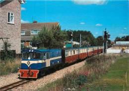 CPSM Train-Romney Hythe Et Dymchurch Railway-diesel Locomotive   L1476 - Eisenbahnen