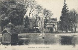 -MOULINS--LE JARDIN PUBLIC--ECRITE AU VERSO LE 20 MARS 1919-- - Moulins