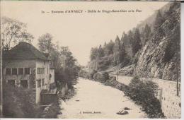CPA-74-Haute Savoie- Environs D' ANNECY- Défilé De Dingy-Saint-Clair Et Le Fier- - Annecy