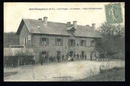 Cpa 35 Paimpont Les Forges La Cantine  Hôtel Peurichard      -- 2 -- - Paimpont