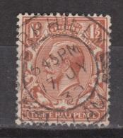 Engeland United Kingdom, Great Britain, Angleterre, Bretagne, King George V, SG 420, Y&T 147 Nice Cancel - 1902-1951 (Koningen)