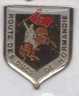 Route Des Ducs De Normandie , Guillaume Le Conquérant , Blason - Villes