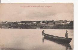 VUE GENERALE DE LOANGO (CONGO FRANCAIS) PIROGUE - Congo Français - Autres