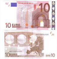 GERMANIA GERMANY 10 € X TRICHET E005J3 UNC COD.€.080 - 10 Euro