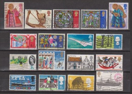 Engeland United Kingdom, Great Britain, Angleterre, Bretagne, Queen Elizabeth II Set Used - 1952-.... (Elizabeth II)