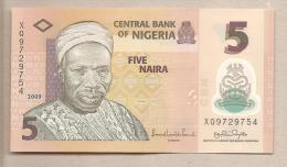 Nigeria - Banconota Circolata QFDS Da 5 Naira - 2009 - Nigeria