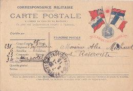 Ak - Correspondance Militaire  - CARTE POSTALE à L'usage Du Civil Ou Du Militaire - Sonstige