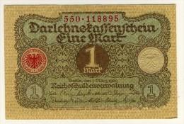 ALLEMAGNE - DEUTCHLAND - GERMANY - Darlehnspaffenfchein - 1 Mark - 01/03/1920 - P.58 - [ 2] 1871-1918 : Impero Tedesco