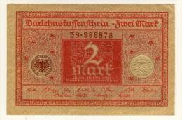 ALLEMAGNE - DEUTCHLAND - GERMANY - Darlehnspaffenfchein - 2 Mark - 01/03/1920 - P.59 - [ 2] 1871-1918 : Impero Tedesco