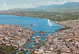 Geneva, Italy, Aerial View - Linda 3089 Reproduction Unused - Genova (Genoa)