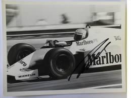 Formule I - Photo De Niki LAUDA  Signé / Autographe / Hand Signed / Dédicace Authentique - Automobile - F1