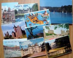 LOT De 10 Carnets Photos Multi- Vues - Cartes Postales