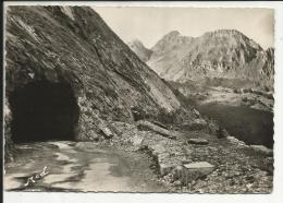 Le Col D' Aubisque , Route Thermale D' Argelès à Eaux Bonnes , Le Tunnel , 1962 - France