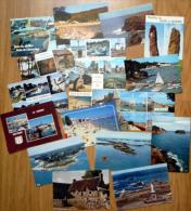 LOT  De 17 Cartes Postales Région Bretagne, Morbihan, Belle-île, Etc... - Bretagne