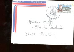 Enveloppe Saint Pierre Et Miquelon 1987 Philatélie - Lettres & Documents