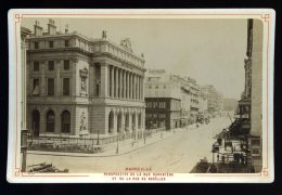 Photographie Originale Du 13 -- Marseille Perspective Rue Canebière , Rue Des Noaïlles .Circa 1900 - Foto