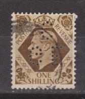 Engeland United Kingdom, Great Britain, Angleterre, Bretagne, King George VI, SG 475, Y&T Used PERFIN CGE - 1902-1951 (Koningen)