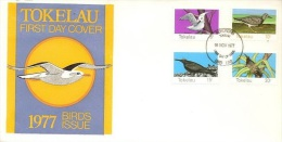 Tokelau 1977 Birds FDC - Birds