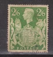 Engeland United Kingdom, Great Britain, Angleterre, Bretagne, King George VI, SG 476, Y&T 233 Used - 1902-1951 (Koningen)