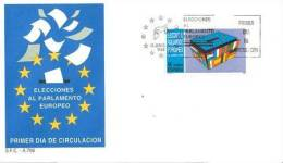 SPAIN 1989 EUROPA SYMPATHY ISSUE  FDC - European Ideas
