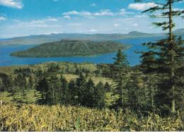 Lake Kutcharo And Mountains From Bihoro Pass, Japan - Japan Travel Unused - Other