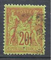 SAGE N° 96   OBL - 1876-1898 Sage (Type II)