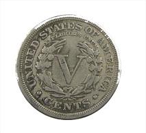Etats-Unis - USA - V Cents - 1909 - TB - Ni. - Federal Issues