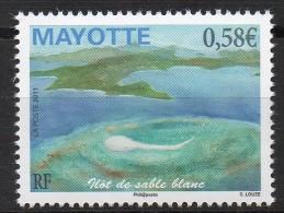 Mayotte - 2011 - Ilot De Sable Blanc - Yvert N° 250 ** - Ungebraucht