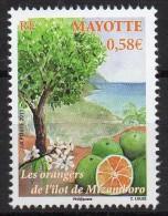 Mayotte - 2011 - Les Orangers De L´Ilôt Mtzamboro - Yvert N° 252 ** - Ungebraucht