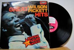 Wilson Pickett - LP 33tr : GREAT WILSON PICKETT HITS  (Pressage : Fr - 1965) - Soul - R&B