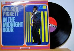 Wilson Pickett - LP 33tr : IN THE MIDNIGHT HOUR  (Pressage : All - 1966) - Soul - R&B
