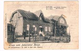 CZ-107   JABERLICH / JAVORNIK . : Gruss Vom Haberliche Berge - Repubblica Ceca