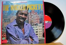 Wilson Pickett - LP 33tr : THE WICKED PICKETT  (Pressage : All - 1966) - Soul - R&B