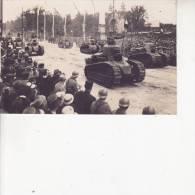 Les Fètes De La Victoire 14 Juillet 1919 Les Chars D'assaut - Materiale