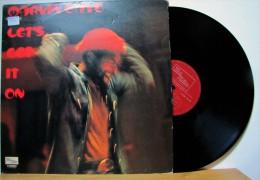 Marvin Gaye - LP 33tr : LET'S GET IT ON  (Pressage : Fr - 1973) - Soul - R&B