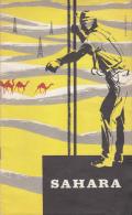 FASCICULE 1956 / RECHERCHE PETROLE ET MINES EN SAHARA (AVEC PLAN HYDROCARBURES EN ALGERIE) - Non Classés