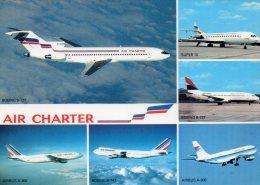 -CPSM - Flotte Utilisée Par AIR CHARTER  -  688 - 1946-....: Moderne