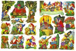 SCRAPS MLP 1481 Snow White Fairytales Contes De Fées De Blanc De Neige Mamelok Sheet Decoupis Feuille Decoupage - Scrapbooking