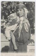 SCENES ET TYPES - FEMME BEDOUINE ET SON ENFANT        /   1667 - Zonder Classificatie