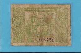SANTO TIRSO  - CÉDULA De  2 CENTAVOS - ND - PORTUGAL - EMERGENCY PAPER MONEY - NOTGELD - Portugal
