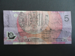 Billet 5 Dollars Australie - Note Banknote Australia - JG 95981417 - Australia