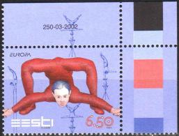 Estonia 2002 1  V MNH Europa Circus Cirque - Circus