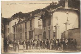 St Rambert En Bugey Entrée Des Ouvriers Du Peignage Edit Brunet Cliché Girard Amberieu - France