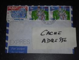 LETTRE CONGO ZAIRE AVEC YT 1254 ET 1253 X 2 - REVOLUTION FRANCAISE - - Zaïre