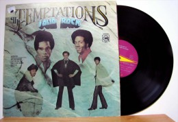 The Temptations - LP 33tr : SOLID ROCK  (Pressage : USA - 1972) - Soul - R&B