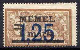 Memel (Klaipeda) 1922 Mi 50 * [221213III] @ - Memelgebiet
