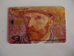 Phonecard/ Telécarte Telecom Card 150 Anos Do Nascimento De VanGogh Portugal Tirage 20000 Ex. - Portugal