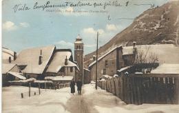 BRIANCON--PONT DES CERVIERES--ANIMEE--ECRITE  RECTO/VERSO LE 21 JUILL 1931-- - Briancon
